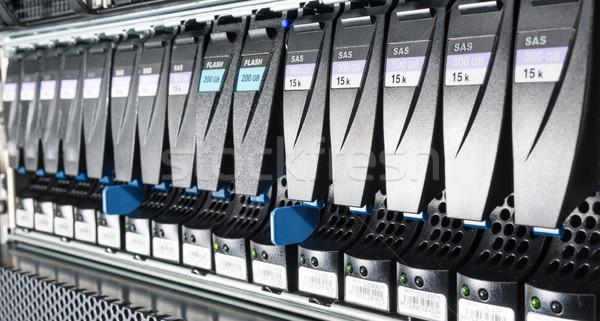 Veri merkezi Internet teknoloji Sunucu ağ hizmet Stok fotoğraf © kubais