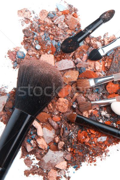 Isolé blanche texture oeil visage Photo stock © kubais