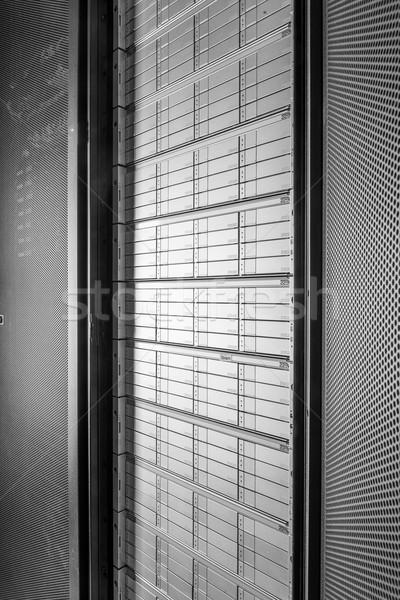 Hálózat szerver szoba üzlet internet biztonság Stock fotó © kubais