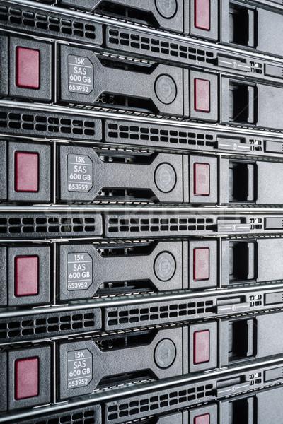 データセンター ハードウェア インターネット ルーム コンピュータ 抽象的な ストックフォト © kubais