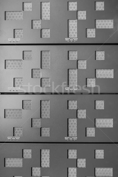 データセンター ハードウェア インターネット ルーム ドア サーバー ストックフォト © kubais
