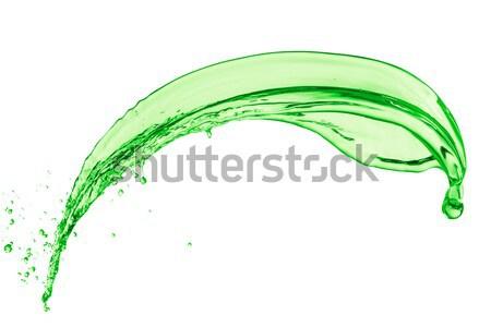 green liquid splash Stock photo © kubais