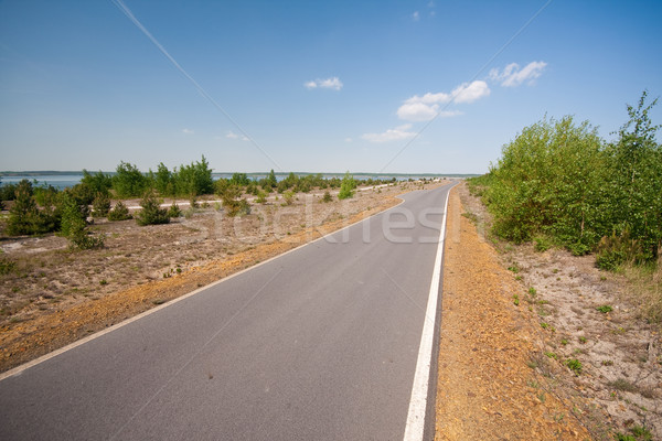 paved road Stock photo © kubais