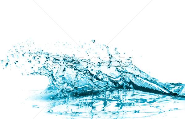 turquoise water splash Stock photo © kubais