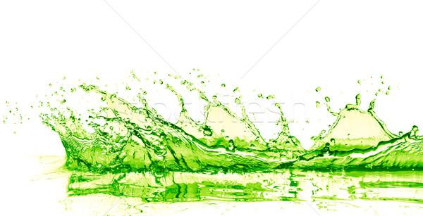 извести пить всплеск белый фрукты фон Сток-фото © kubais