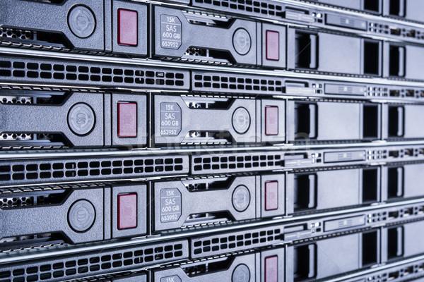 центр обработки данных аппаратных интернет комнату аннотация двери Сток-фото © kubais