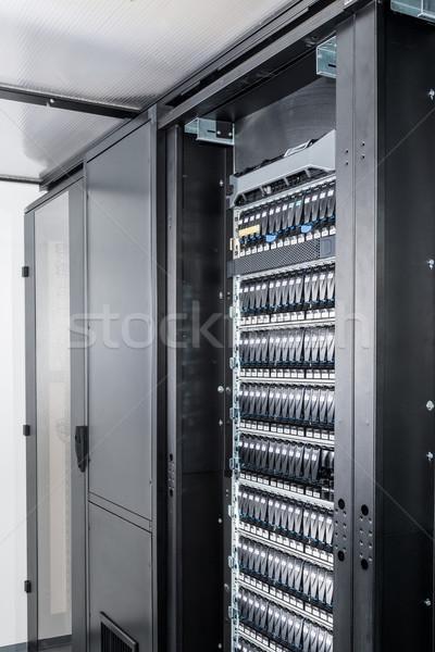 сервер комнату центр обработки данных безопасности сеть связи Сток-фото © kubais