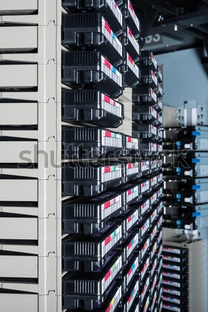Veri merkezi depolama Internet oda soyut teknoloji Stok fotoğraf © kubais