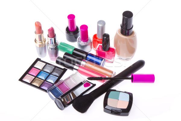 set of cosmetic products Stock photo © kubais