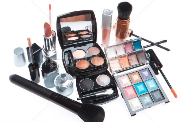 set of cosmetic makeup products Stock photo © kubais