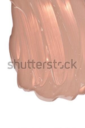 Smink alap izolált fehér arc háttér Stock fotó © kubais
