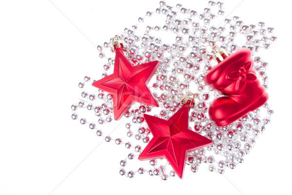 Natale decorazione isolato bianco spazio bar Foto d'archivio © kubais