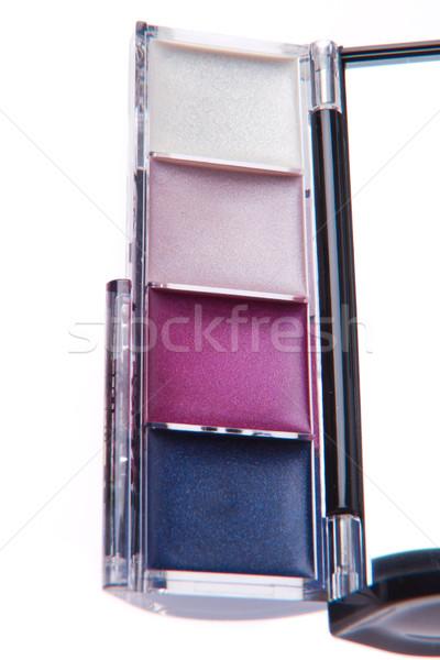 Crema ojo moda cuerpo pintura Foto stock © kubais