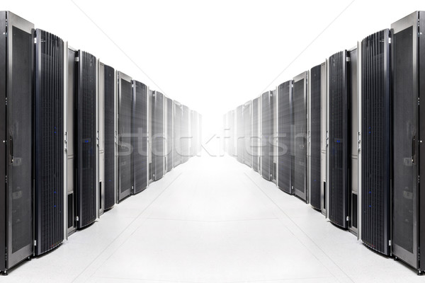 сеть сервер комнату сильный свет Сток-фото © kubais