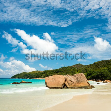 Anse Lazio beach, Praslin island, Seychelles Stock photo © kubais
