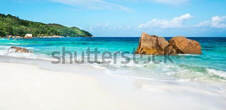 пляж Сейшельские острова острове воды пейзаж лет Сток-фото © kubais