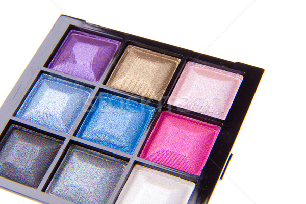 eyeshadow palette Stock photo © kubais