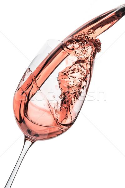 rose wine Stock photo © kubais