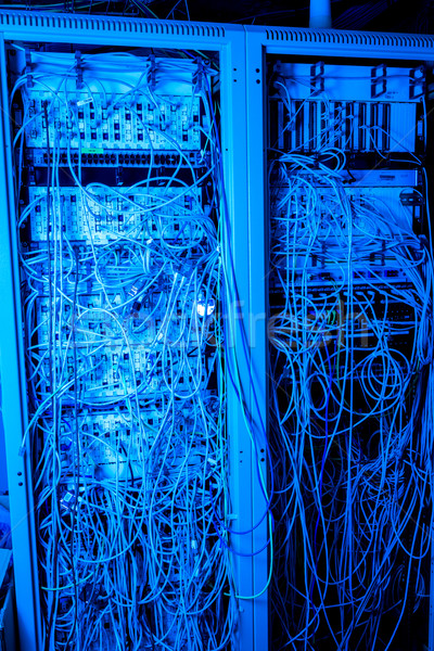 Network center concept Stock photo © kubais