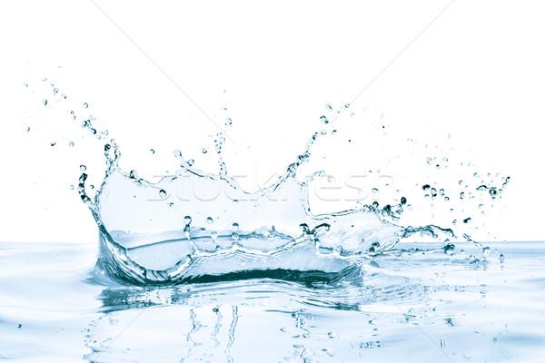 Reflexão isolado abstrato natureza azul Foto stock © kubais
