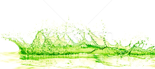 Cal beber salpico branco fruto fundo Foto stock © kubais
