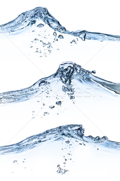 water splashing set Stock photo © kubais