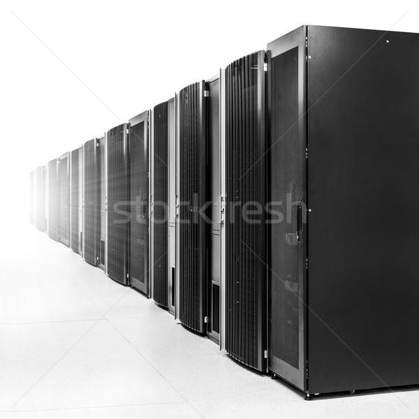 Rede servidor quarto forte luz Foto stock © kubais