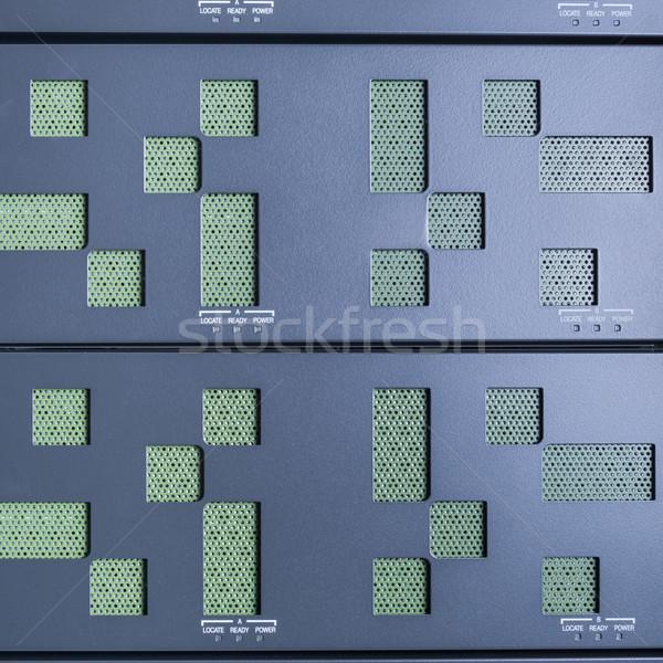 Adatközpont hardver internet szoba absztrakt ajtó Stock fotó © kubais