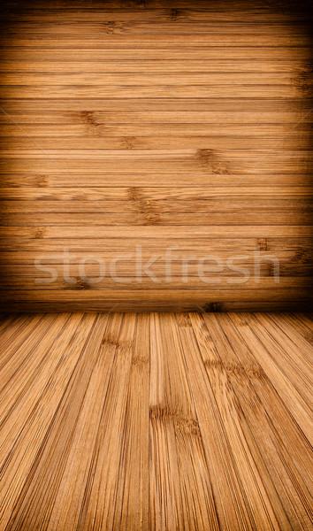 Ahşap duvar zemin doku dizayn arka plan Stok fotoğraf © kuligssen