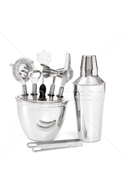 barman's set, equipment Stock photo © kuligssen