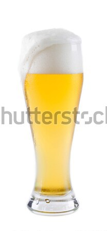 beer into glass diffuse Stock photo © kuligssen