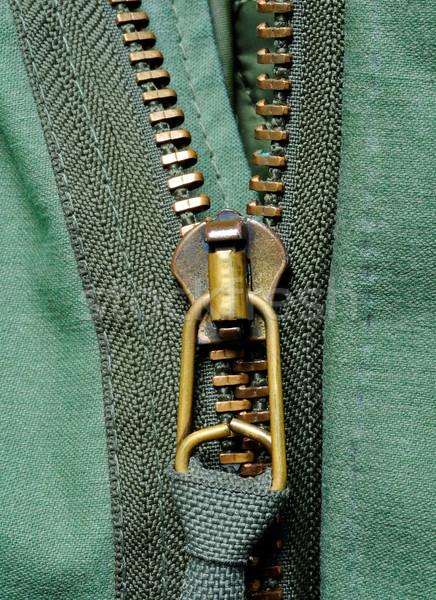 closeup of a half-opened  Stock photo © kuligssen