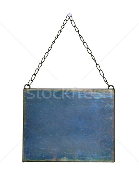 plate hanged on chains  Stock photo © kuligssen