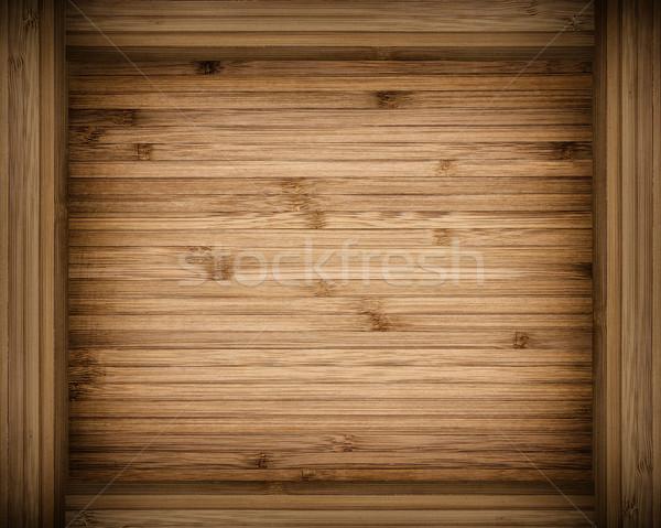 Ahşap ahşap çerçeve doku dizayn arka plan çerçeve Stok fotoğraf © kuligssen