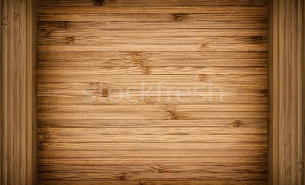 Ahşap çerçeve doku dizayn arka plan çerçeve tablo Stok fotoğraf © kuligssen
