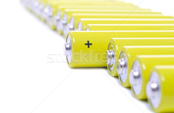 Zdjęcia stock: Rząd · żółty · biały · pomarańczowy · podróży