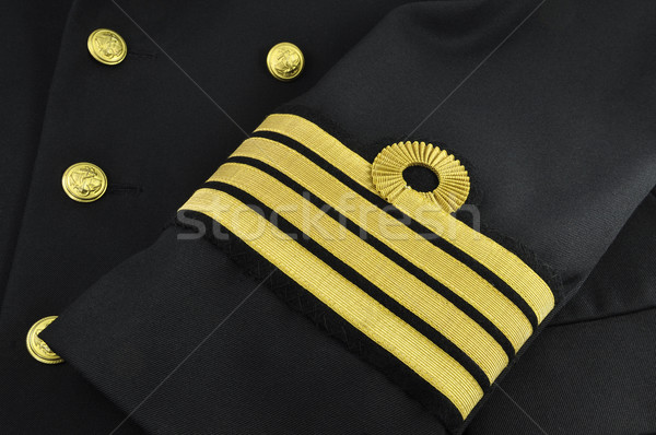 navy uniform, captain Stock photo © kuligssen