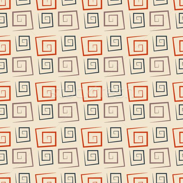 аннотация бесшовный текстуры квадратный Сток-фото © kup1984