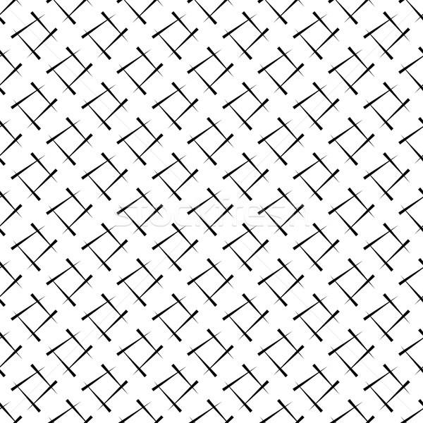 Stok fotoğraf: Geometrik · siyah · beyaz · soyut · doku · ayarlamak