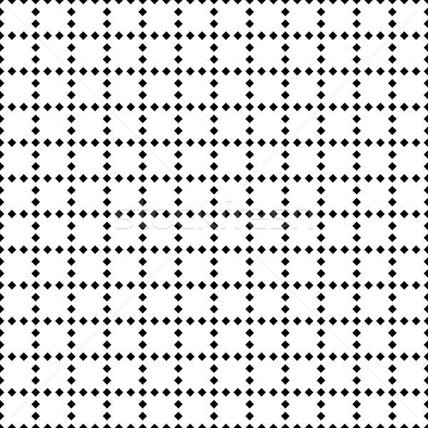 Preto e branco geométrico azulejos diagonal Foto stock © kup1984