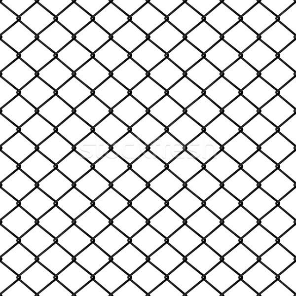 Seamless metal mesh, vector illustration. Stock photo © kup1984