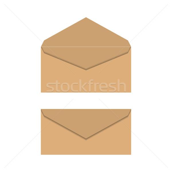 Stok fotoğraf: Sarı · kâğıt · ayarlamak · yalıtılmış · beyaz · açmak