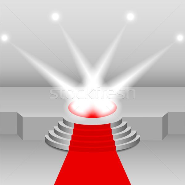 Illumination of the scene, vector illustration. Stock photo © kup1984