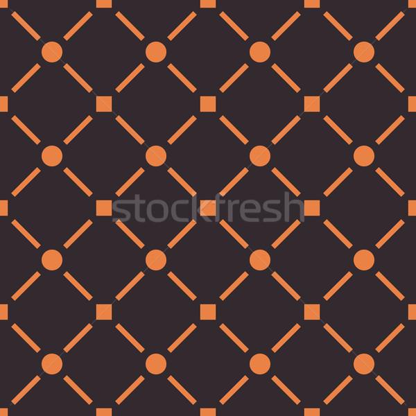 Stock photo: Seamless pattern, vector illustration.