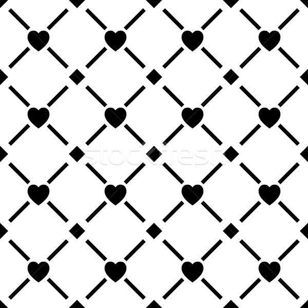 Végtelen minta ismétlés mértani csempék átló vonalak Stock fotó © kup1984