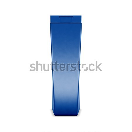 Plastic fles shampoo 3d illustration Stockfoto © kup1984