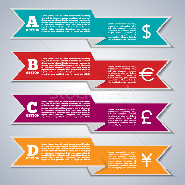Elements of infographics, vector illustration. Stock photo © kup1984