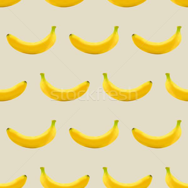 Sin costura frutas textura establecer amarillo Foto stock © kup1984