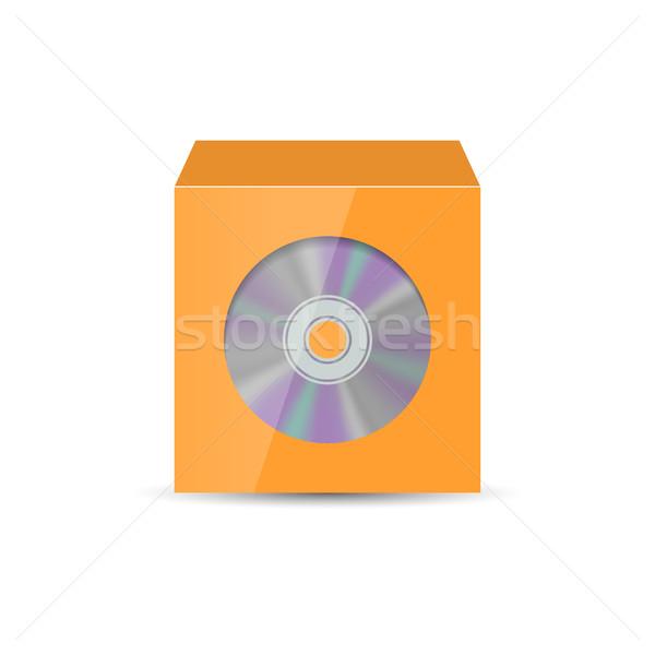 封筒 cd ウィンドウ 色 現実的な 孤立した ストックフォト © kup1984