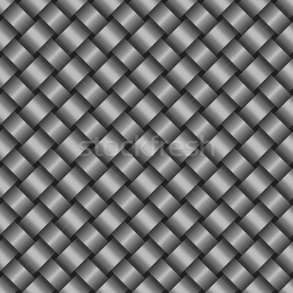 Aço sem costura textura abstrato metal fundo Foto stock © kup1984